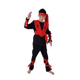 Ninja Kid Karate Japan Jongen Kostuum