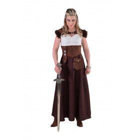 Onoverwinnelijke Thrones Viking Vrouw Kostuum