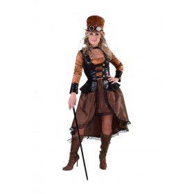 Sheffield Steampunk Cyber Vrouw Kostuum
