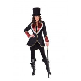 Jas Aristocraat Showgirl Vrouw