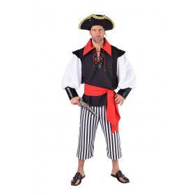 Klaar Om Te Enteren Golf Van Biskaje Man Kostuum