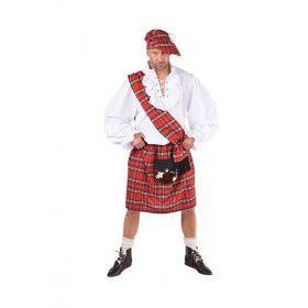 Schotse Single Malt Whisky Liefhebber Man Kostuum