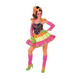 Dolly Dot Jaren 80 Disco Vrouw Kostuum