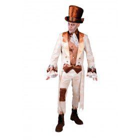 Zombie Bruidegom Koud Kil Feestje Man Kostuum