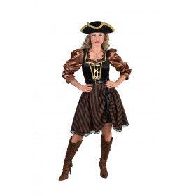Piraat Erna Enterhaak Zeerover Vrouw Kostuum
