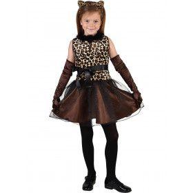 Jachtluipaard Cheetah Afrika Meisje Kostuum