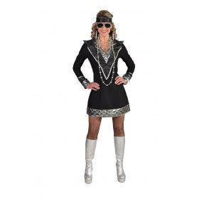 Space Rock Muziek Artieste Chrissie Vrouw Kostuum