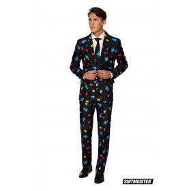 Space Invaders Videogame Computerspel Man Kostuum