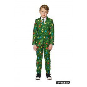 Groen Kerstversieringen Kerstmis Jongen Kostuum