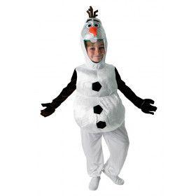 Olaf Frozen Sneeuwpop Kind Kostuum
