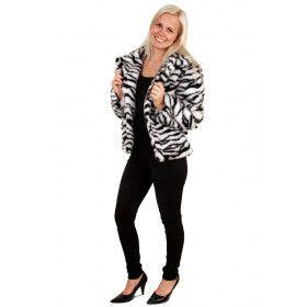 Afrika Bontjas Zebra Vrouw
