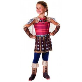 Astrid Onverschrokken Viking Meisje Kostuum