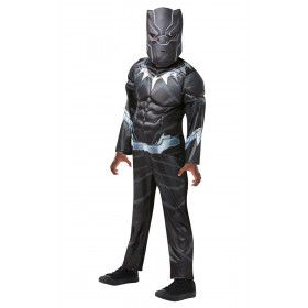 Black Panther Avengers Assemble Deluxe Televisieserie Kind Kostuum