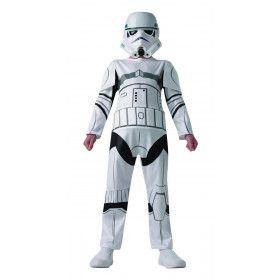 Stoere Stormtrooper Star Wars Trekt Ten Strijde Kind Kostuum