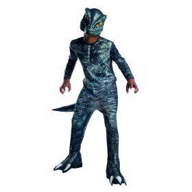 Jurassic World Velociraptor Dinosaurus Kind Kostuum