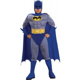 Batman Blauw Past Bij Jou Kind Jongen Kostuum