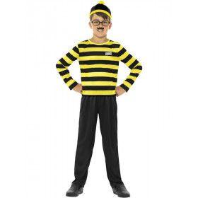 Where Is Wally Odlaw Jongen Kostuum