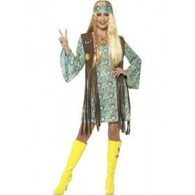 Smokey Janis Hippie Vrouw Kostuum
