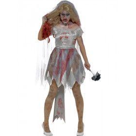 Scheiden Doet Lijden Bruid Vrouw Kostuum