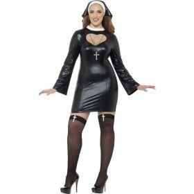 Strakke Sexy Habijt Vrouw Kostuum