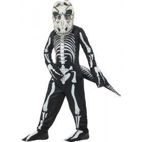 T Rex Dinosaurus Skelet Jongen Kostuum