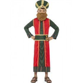 Koning Caspar Bethlehem Jongen Kostuum