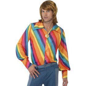 70s Regenboog Hippie