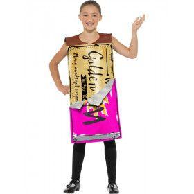 Roald Dahl Willy Wonka Gouden Wikkel Chocolade Reep Kind Kostuum