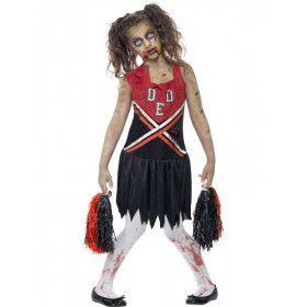 Move That Ass Zombie Cheerleader Meisje Kostuum