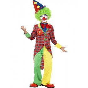 De Ster Van Het Circus Clown Jongen Kind Kostuum
