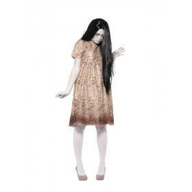 Boze Geest Voodo Pop Vrouw Kostuum