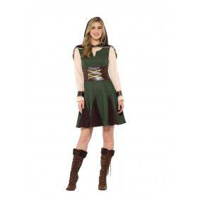 Droom Van De Sheriff Robin Hood Vrouw Kostuum