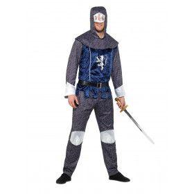 Middeleeuwse Ridder Zonder Vrees Man Kostuum