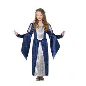 Onbereikbaar Schone Middeleeuwse Prinses Meisje Kostuum