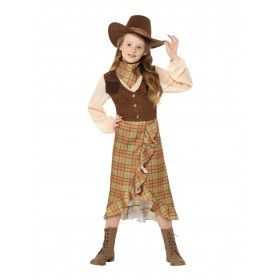 Kudde Drijver Cowgirl Sarah Meisje Kostuum