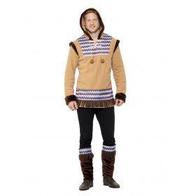 Noordpool Eskimo Koude Neus Man Kostuum