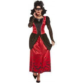Zuigende Bloeddorstige Vampier Vrouw Kostuum