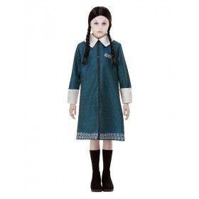 Addams Family Wednesday Meisje Kostuum