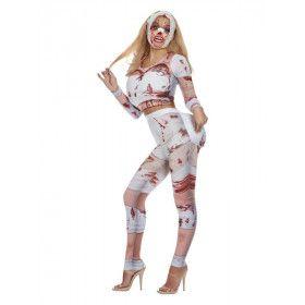 Horror Plastische Chirurgie Vrouw Kostuum