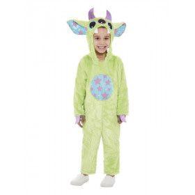 Groen Grappig Monster Kind Kostuum