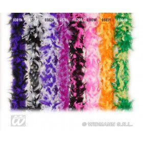 Boa, 2-Kleurig Zwart / Wit 180cm