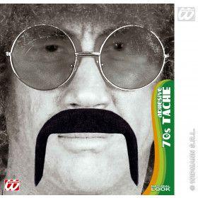 Snor 70s Zwart