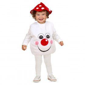 Opgevulde Paddestoel Kind Kleine Knuffel Kostuum Kind