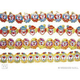 Papieren Slinger Clowns, 3 Meter