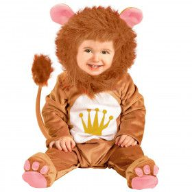 Wilde Baby Leeuw Kostuum Kind