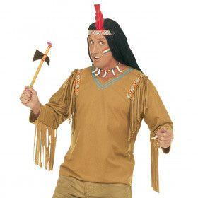 Verkleedset Indiaan Chief XL Kostuum Man
