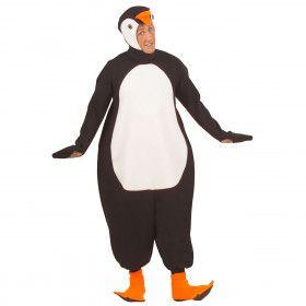 Waggelende Pinguin Kostuum Man
