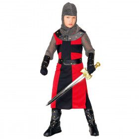 Ridder Dark Age, Jongen Ridder Ronde Tafel Kostuum