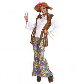 Hippie Vrouw, Woodstock Love And Peace Kostuum