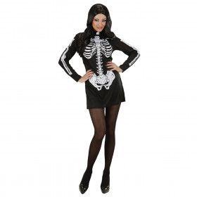 Skelet Meisje Kostuum Vrouw